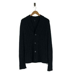 Theory Chunky Button Front Cardigan Sweater